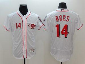 2016 MLB FLEXBASE Cincinnati Reds 14 Pete Rose White Jerseys