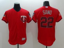 2016 MLB FLEXBASE Cincinnati Reds 22 Sano Red Fashion Jerseys