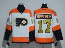 2016 NHL Philadelphia Flyers 17 Wayne Simmonds 50th Anniversary White Jerseys