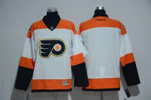 2016 NHL Philadelphia Flyers 50th Anniversary White Jerseys