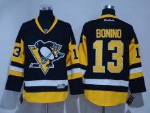 2016 NHL Pittsburgh Penguins 13 Bonino Black Jerseys