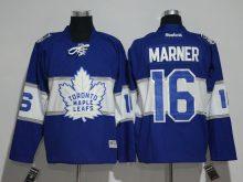 2016 NHL Toronto Maple Leafs 16 Marner Blue Jerseys