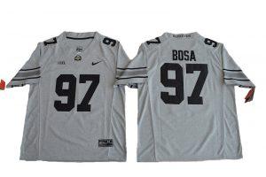 2016 Ohio State Buckeyes Joey Bosa 97 College Football Jersey - Gridion Grey II