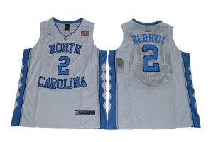 2017 North Carolina Tar Heels Joel Berry II 2 College Basketball Jersey - White