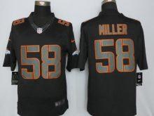 Denver Broncos 58 Miller Impact Limited Black New Nike Jerseys