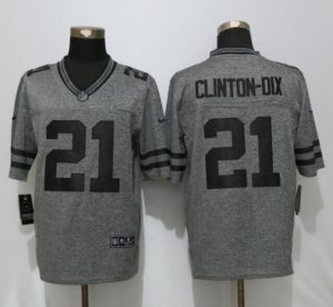 Green Bay Packers 21 Clinton-Dix Gray Men's Stitched Gridiron Gray New Nike Limited Jersey