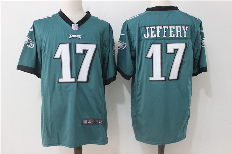 Philadelphia Eagles 17 Jeffery Green Game 2017 Nike Jerseys