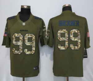 San Francisco 49ers 99 Buckner Green Salute To Service Nike Limited Jersey