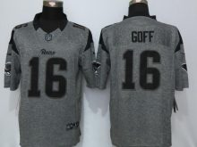 St.Louis Rams 16 Goff Gray Men's Stitched Gridiron Gray New Nike Limited Jersey