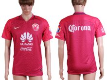 2016-2017 club Club América second away Red AAA+Soccer Jersey
