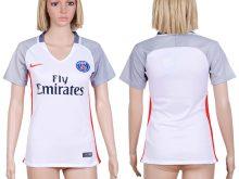 2016-2017 club Paris saint germain second away White Womens Soccer Jersey