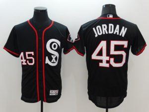 2016 MLB Chicago White Sox 45 Jordan Black Elite Fashion Jerseys