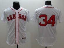 2016 MLB FLEXBASE Boston Red Sox 34 Ortiz white jerseys