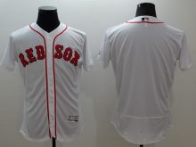 2016 MLB FLEXBASE Boston Red Sox blank white jerseys