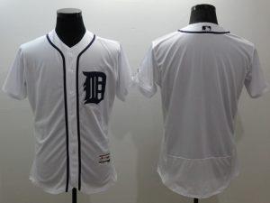 2016 MLB FLEXBASE Detroit Tigers blank white jerseys