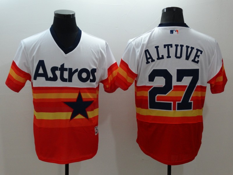 outlet store f5721 6bbbb MLB FLEXBASE Houston Astros 27 Jose Altuve 1979 Turn Back ...