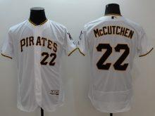 2016 MLB FLEXBASE Pittsburgh Pirates 22 McCutchen white jerseys