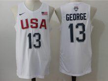 2016 NBA USA Dream Twelve Team 13 George White Jerseys