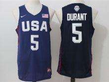 2016 NBA USA Dream Twelve Team 5 Durant Blue Jerseys