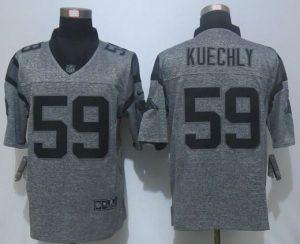 2016 NEW Nike Carolina Panthers 59 Kuechly Gray Men's Stitched Gridiron Gray Limited Jersey