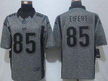 2016 New Nike Cincinnati Bengals 85 Eifert Gray Men's Stitched Gridiron Gray Limited Jersey