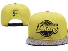 2017 NBA Los Angeles Lakers Snapback 0411 XDFMY