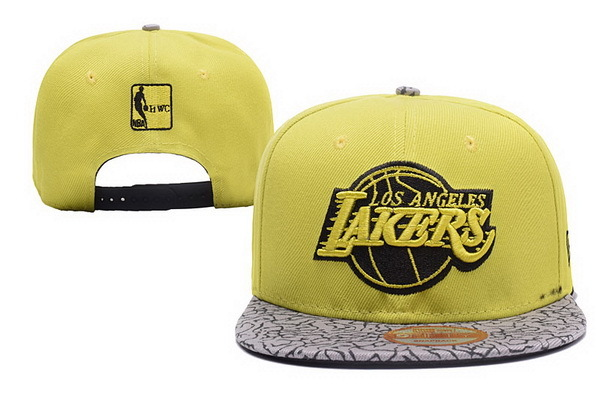 2017 NBA Los Angeles Lakers Snapback 0411 XDFMY