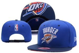 2017 NBA Oklahoma City Thunders Snapback 0416 XDFMY