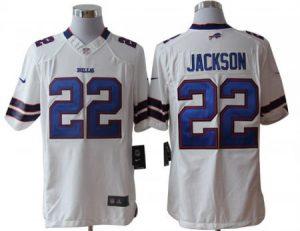 Buffalo Bills 22 Jackson White Nike Limited Jerseys