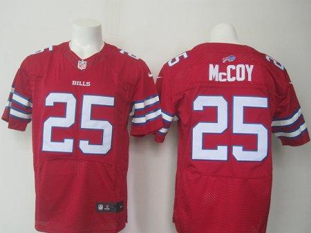Buffalo Bills 25 Mccoy Red 2015 Nike Elite Jerseys