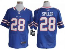 Buffalo Bills 28 Spiller Blue Nike Elite Jerseys
