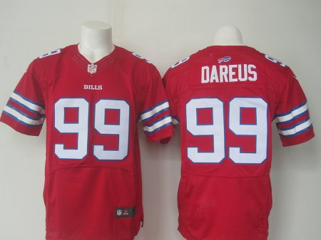 Buffalo Bills 99 Marcell Dareus Red 2015 Elite Nike Jerseys