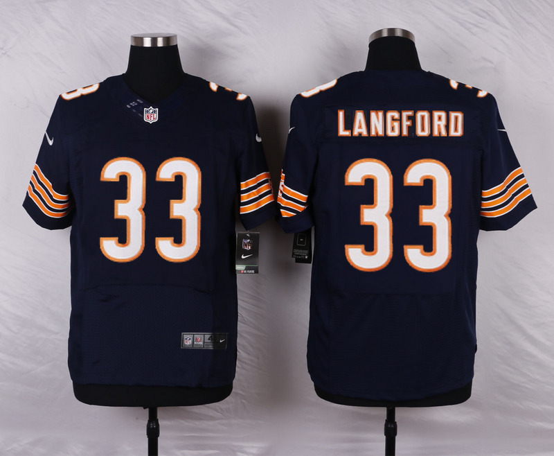 Chicago Bears 33 Langford Blue 2016 Nike Elite Jerseys