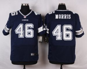 Dallas Cowboys 46 Morris Blue 2016 Nike Elite Jerseys