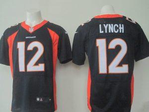 Denver Broncos 12 Lynch Blue 2016 Nike Elite Jerseys