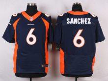 Denver Broncos 6 Sanchez Blue 2016 Nike Elite Jerseys