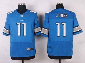 Detroit Lions 11 Jones Blue 2016 Nike Elite Jerseys