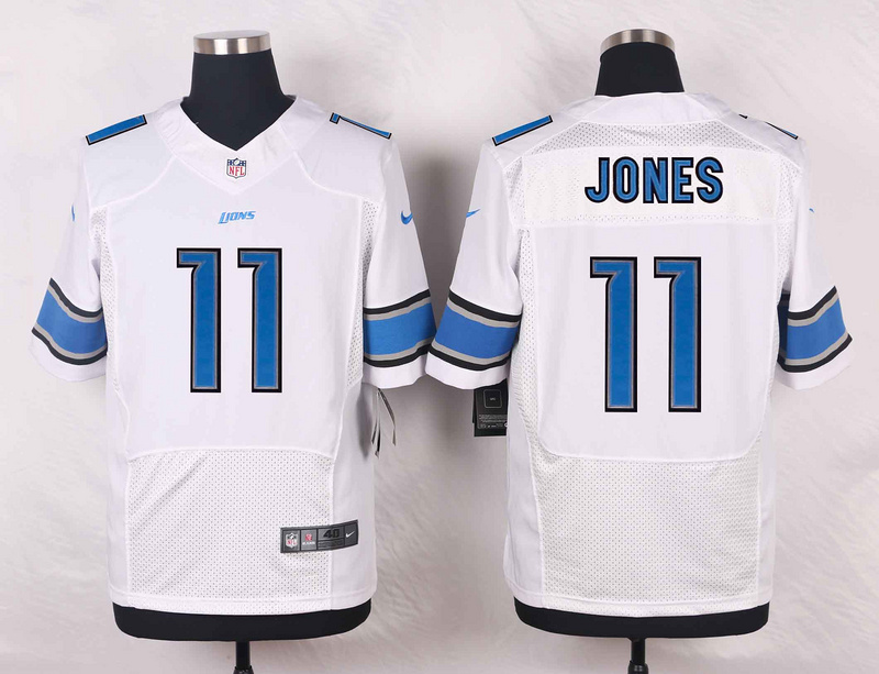 Detroit Lions 11 Jones White 2016 Nike Elite Jerseys