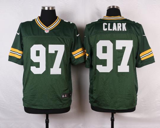 Green Bay Packers 97 Clark Green 2016 Nike Elite Jerseys