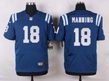 Indianapolis Colts 18 Manning Blue 2016 Nike Elite Jerseys