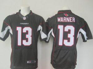 NFL Arizona Cardinals 13 Warner Black Nike Elite 2016 jerseys