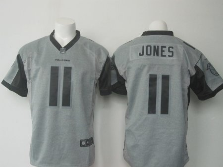 NFL Atlanta Falcons 11 Jones Grey Nike 2016 jerseys