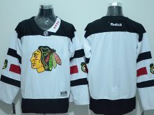 NHL Chicago Blackhawks Blank White 2016 Jersey