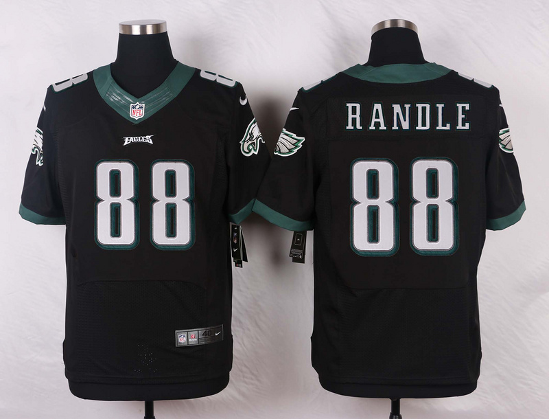 Philadelphia Eagles 88 Randle Black 2016 Nike Elite Jerseys