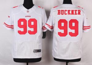 San Francisco 49ers 99 Buckner White 2016 Nike Elite Jerseys