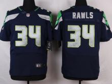 Seattle Seahawks 34 Rawls Blue 2016 Nike Elite Jerseys