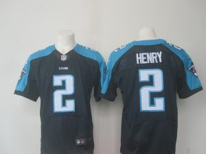 Tennessee Titans 2 Henry Blue 2016 Nike Elite Jerseys