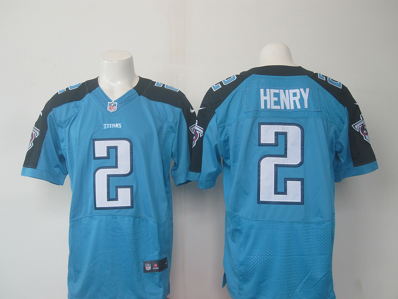 Tennessee Titans 2 Henry Light Blue 2016 Nike Elite Jerseys