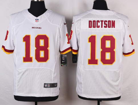 Washington Redskins 18 Doctson White 2016 Nike Elite Jerseys