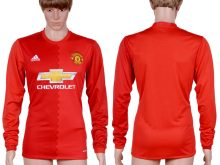 2016-2017 club Manchester United home long sleeve Red AAA+ Soccer Jersey